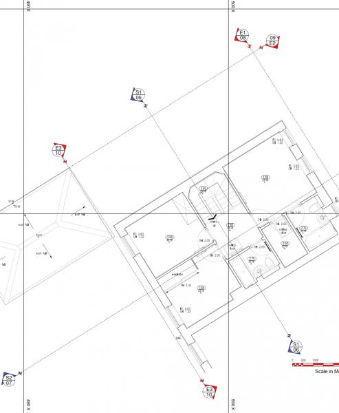 As-built 2D Floor Plan