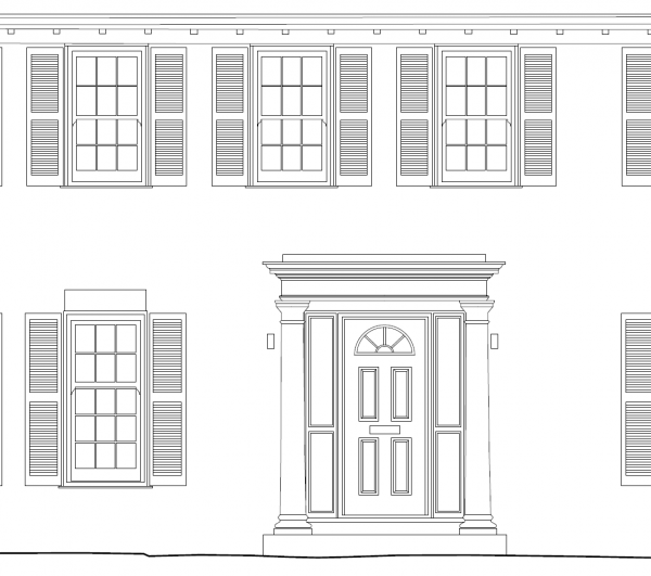 Exterior Front Elevation